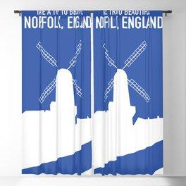 Take a trip to Beautiful Norfolk England. Blackout Curtain