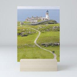 Neist Point Lighthouse, Isle of Skye, Scotland Mini Art Print