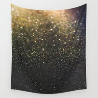 sparkle Wall Tapestries featuring Sparkle by Jane Lacey Smith