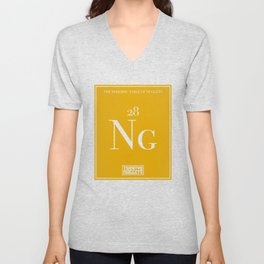Periodic Table of Nuggets Unisex V-Neck