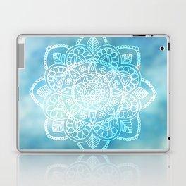 Blue Sky Mandala Laptop & iPad Skin