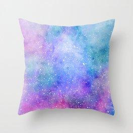 Galaxy Fantasy Throw Pillow