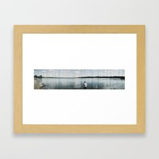 Waiting for the Hint of a Spark Framed Art Print