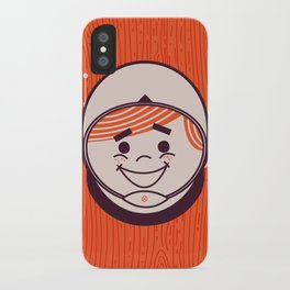 Retro Space Guy iPhone Case