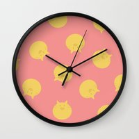 shingeki no kyojin Wall Clocks featuring Armin Blanket (Shingeki! Kyojin Chuugakkou) by kaposiopesis