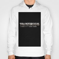 transformers Hoodies featuring Transformers Logo by Батзаяа Г.