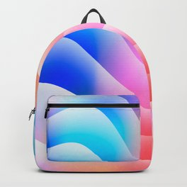 Summer Sand in a Sunset Backpack