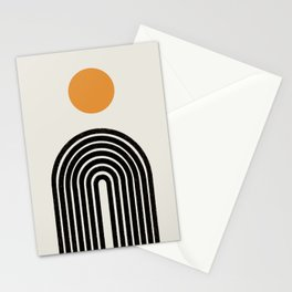 Modern Arch Art Stationery Cards