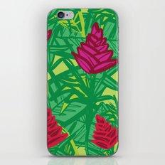 Tropical dreams green iPhone & iPod Skin