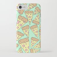 pizza iPhone & iPod Cases featuring Pizza by Evan Smith