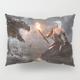 The Witcher - Ciri Concept Pillow Sham