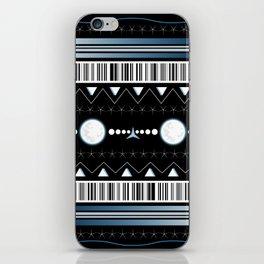 moon pattern iPhone Skin