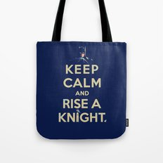 Keep Calm: Knight Tote Bag