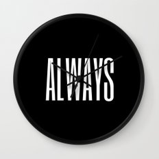 always I Wall Clock