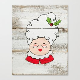 Mrs. Claus Canvas Print