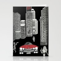 sin city Stationery Cards featuring sin city by Carmit Levy