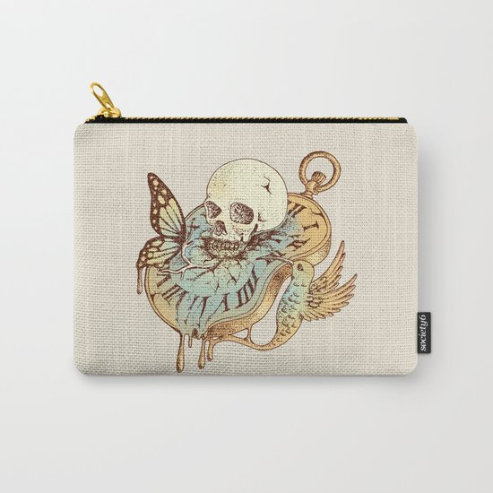 In Time Carry-All Pouch