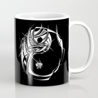 yin yang Mugs featuring Yin Yang by David T Eagles