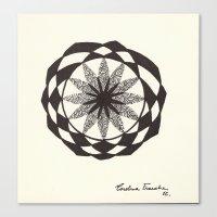 jojo Canvas Prints featuring jojo by Carolina Frauche