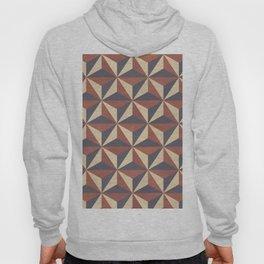 Cappuccino-Chocolate Art-Deco Pattern Hoody