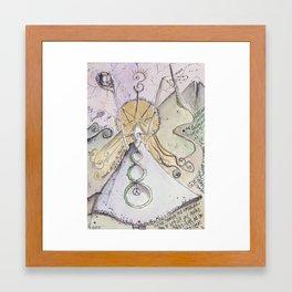 The Artist of Life Framed Art Print