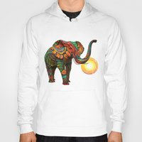 geometric Hoodies featuring Elephant's Dream by Waelad Akadan