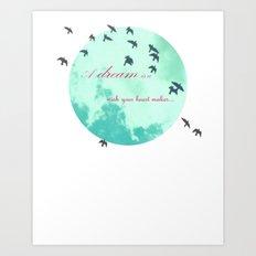 Cinderella's Song Art Print