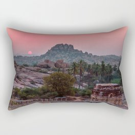 Jungle book: sunrise Rectangular Pillow