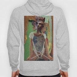 Maya Kaiju Goddess - Vintage Collage Hoody