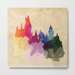 Welcome to Hogwarts Metal Print