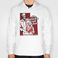 utah Hoodies featuring KFC (Utah) by Geekleetist