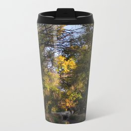 TREE VIGNETTE Metal Travel Mug