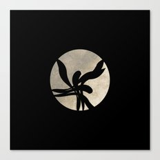 Dancing in the moonlight Canvas Print