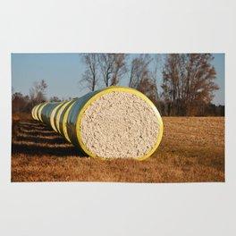 Round Bales Of Cotton Rug