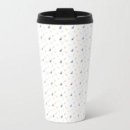 K Confetti Metal Travel Mug