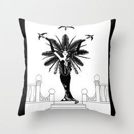 La Grande Vie Throw Pillow