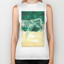 that view Landscape Forest Abstract Painting Biker Tank