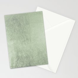 Modern elegant stylish blush green abstract pattern Stationery Cards