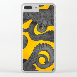 Octopus 3 Clear iPhone Case