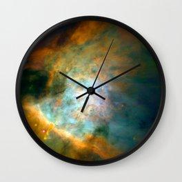 Space Fog Wall Clock