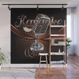 Karaoke Queen Wall Mural