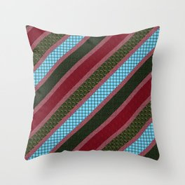 Patterns and Textures Throw Pillow