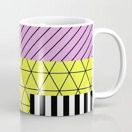 Go Bigger (Abstract, geometric, pastel designs) Coffee Mug