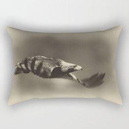 Golden Eagle Flight Rectangular Pillow