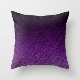 Funky Dark Purple Throw Pillow