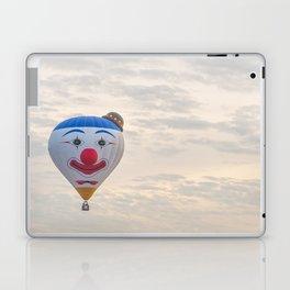 Smiling Clown - hot air balloon Laptop & iPad Skin