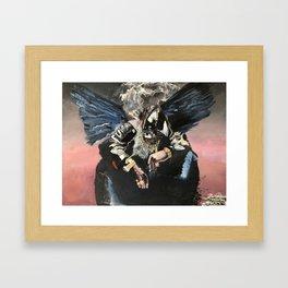 BIRDS IN THE TRAP SING MCKNIGHT Framed Art Print