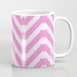Chevron As The Color of Bubble Gum Coffee Mug