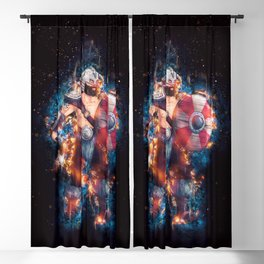 The Barbarian Color from Nordic Warriors Blackout Curtain