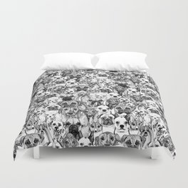 just dogs Duvet Cover